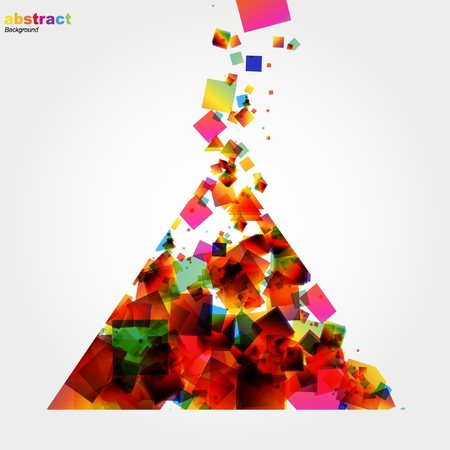 Abstract colorful background. Stock Photo - 7667990