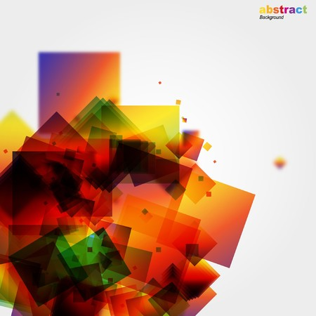 vintagern: Abstract colorful background.