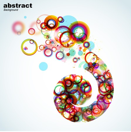 vintagern: Abstract colorful background.  Stock Photo