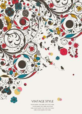 wallpaperrn: flower-vintage flower