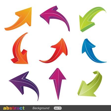 flecha direccion: flecha  Vectores