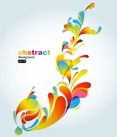 farbe: Abstrakt colorful background Illustration