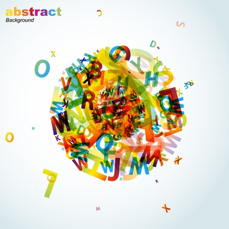 Abstract colorful background. Stock Vector - 7904714