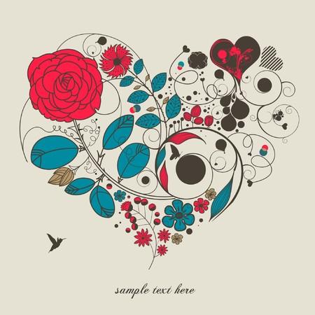 love-heart Vector