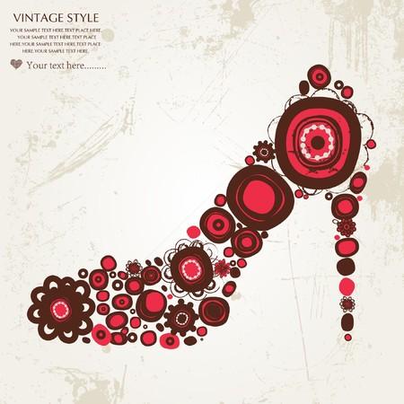 ms: shoes Illustration