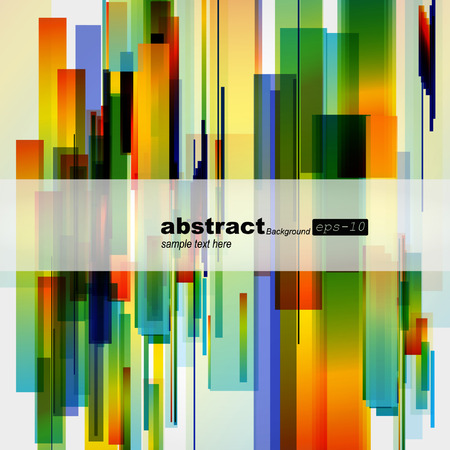 modern art: Abstract colorful background.  Illustration