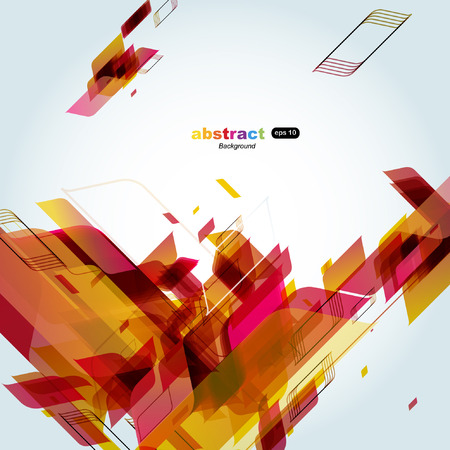 Abstract colorful background. Vector