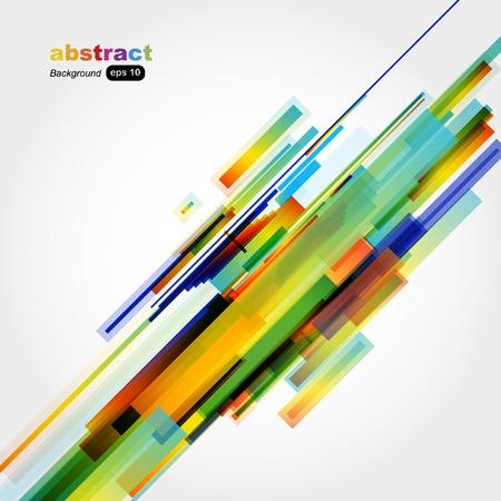 Abstract colorful background.  Ilustração