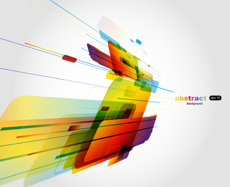 abstract technology background: Abstract colorful background.   Illustration