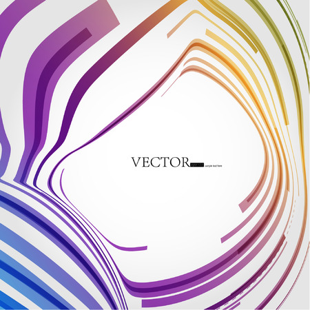 Abstract colorful background.  Stock Vector - 8209398