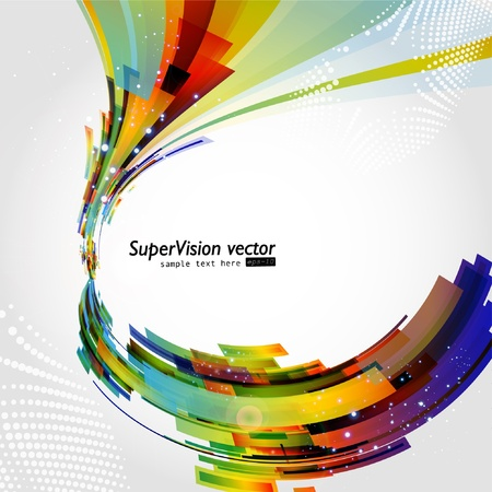 Abstract colorful background. Vector. Stock Vector - 8516435