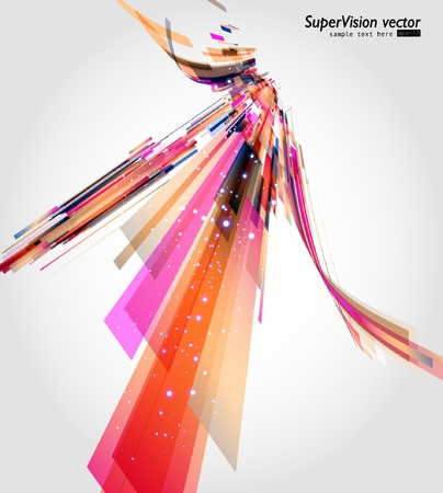 graphic: Abstract colorful background.   Illustration