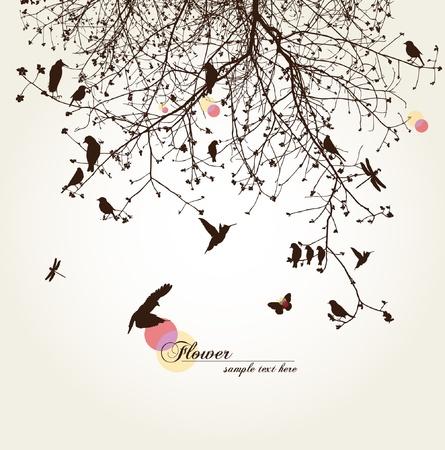 vida natural: árbol Vectores
