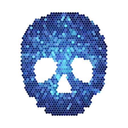 skull Stock Vector - 9031042