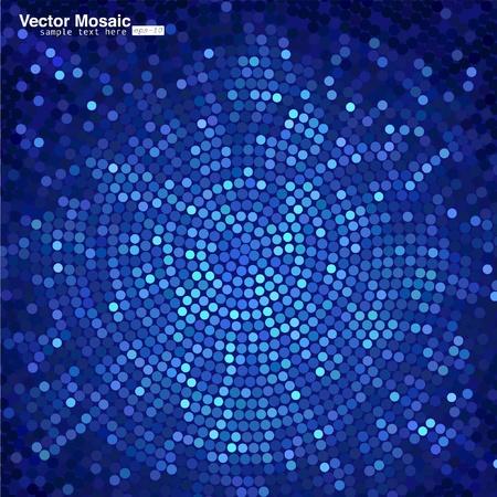 vector mozaïek Vector Illustratie