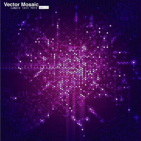 circuitos electronicos: mosaico de vectores