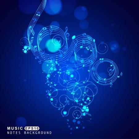 Music set of design elements Stock Vector - 8970799