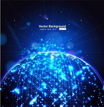 information science: light background