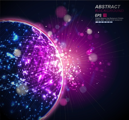 Abstract Background Vector Stock Vector - 9257740