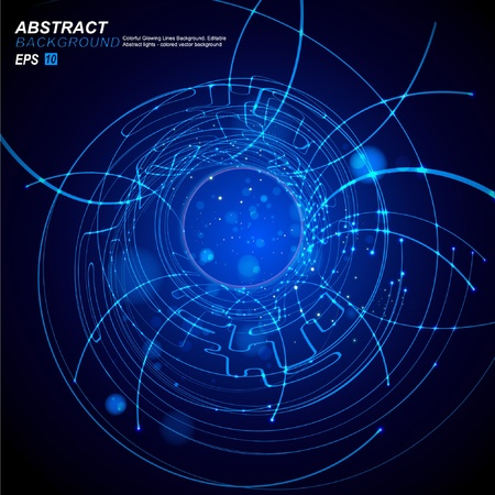 processors: Abstract Background Vector Illustration