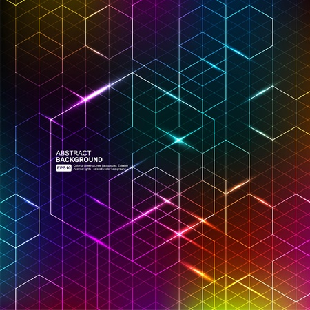 electronic components: Abstract Background Vector Illustration