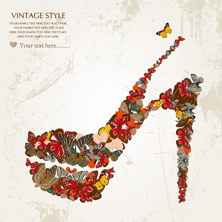 shoe collection: shoes Illustration