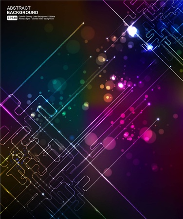 electronical: Abstract Background Vector Illustration