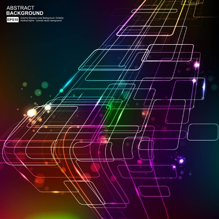 industry electronic: Abstract Background Vector Illustration
