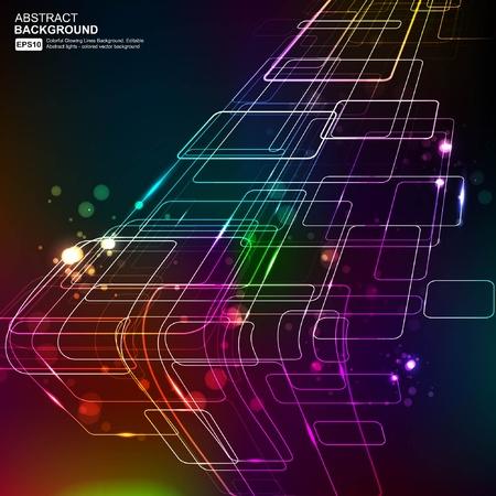 componentes electronicos: Vector de fondo abstracta