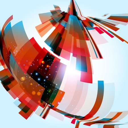 Abstract Background Stock Vector - 9717513