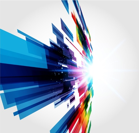 Abstract Background Stock Vector - 9717602