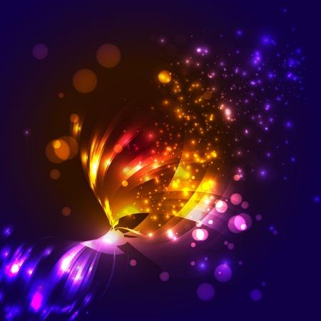 neon wallpaper: Vettore sfondo astratto Vettoriali