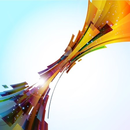 elipse: Vector de fondo abstracta