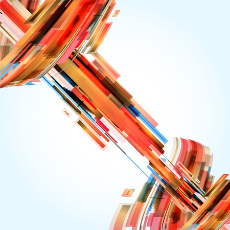 bend: Abstract Background Vector Illustration