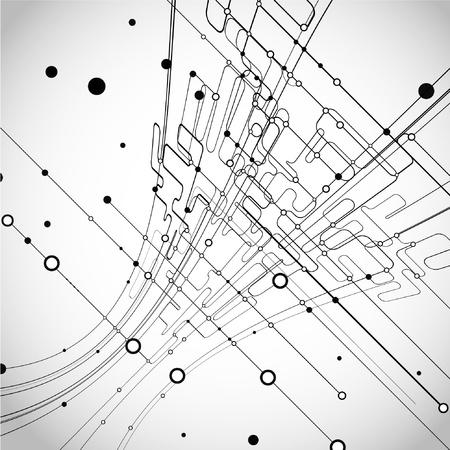 abstrakt: Abstrakt bakgrund Illustration
