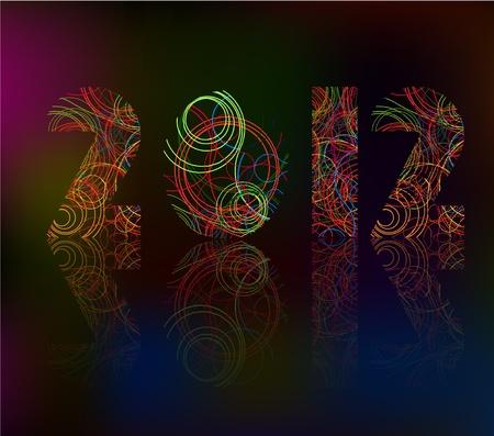 snoflake: 2012 Illustration