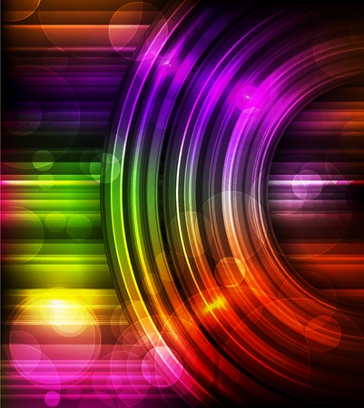 rainbow color star: Abstract Background Vector Illustration