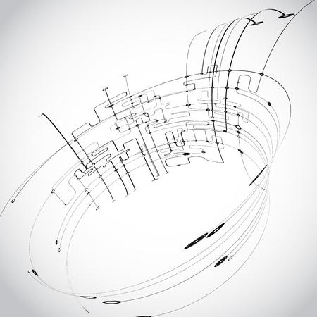 Streszczenie vector Ilustracje wektorowe