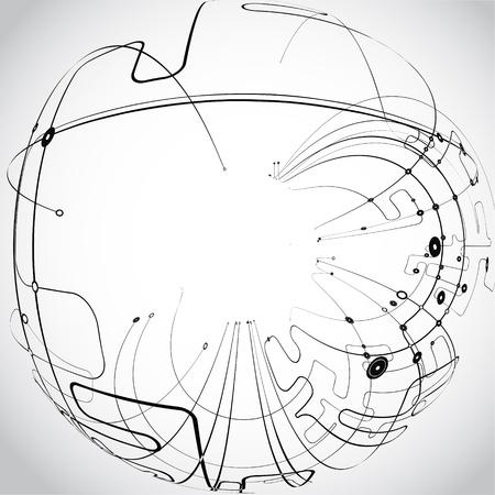 circuitos electronicos: Vector Resumen Antecedentes