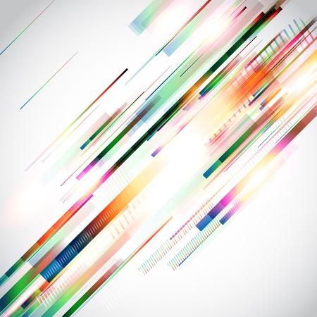 elipse: Vector de fondo abstracto