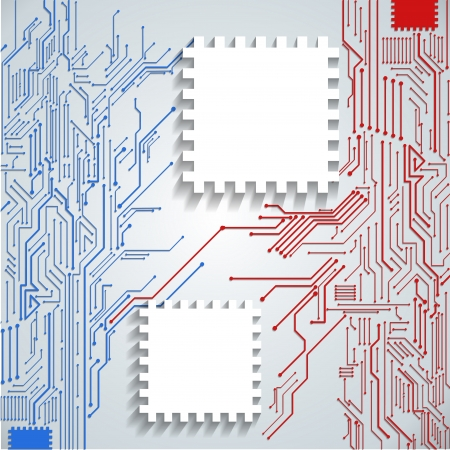 circuitboard: Abstract Background