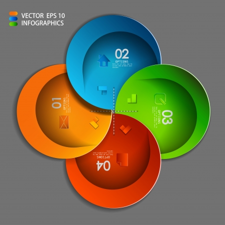 progress steps: vector paper progress steps for tutorial