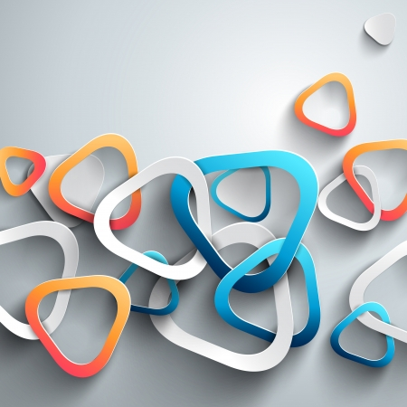 grafica de pastel: Fondo de vectores abstractos