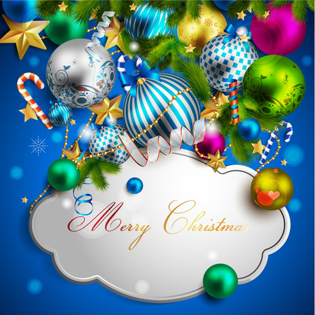 holy place: xmas greeting card design