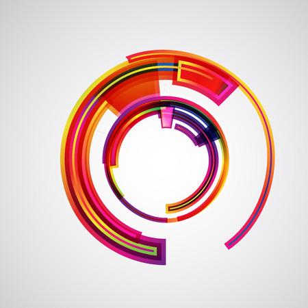 digital art: abstract vector background Illustration