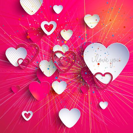 3d heart-Valentine