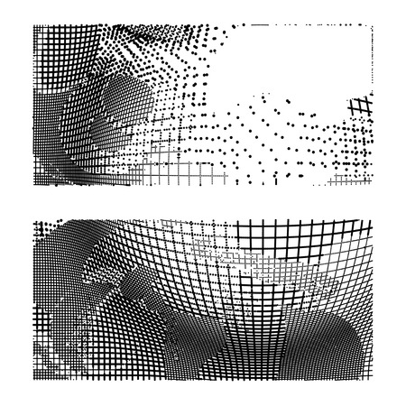 abstract background-Dot Graphics