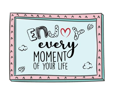 Creative Inspiring Motivation Quote Vector