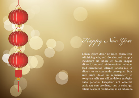 chinese new year card: Chinese new year card design.