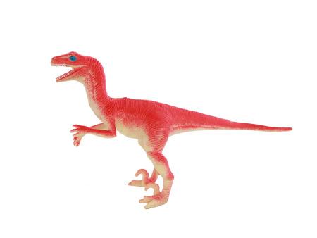 taxonomic: Pink dinosaur on a white background